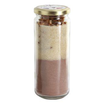 Préparation pot en verre brownie 330gr - Mirontaine