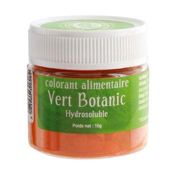 Achat en ligne Colorant alimentaire hydrosoluble 10gr vert botanique - Le Comptoir Colonial
