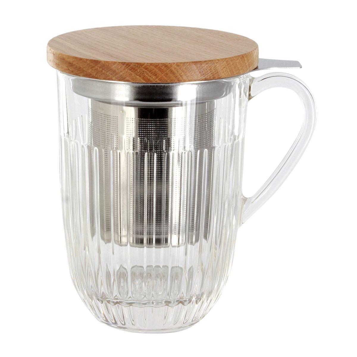 Tisanière Ouessant 40 cl verre trempé  - La Rochère