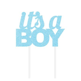 Décoration gâteau cake topper It´s a boy - Creative Party