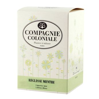INFUSION REGLISSE MENTHE - COMPAGNIE COLONIALE