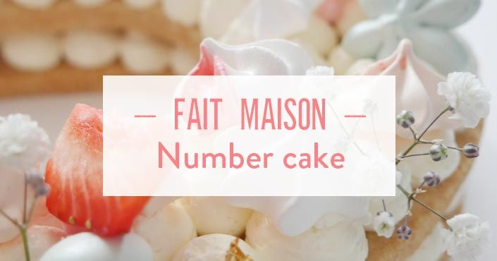 Astuces number cake