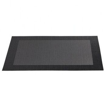 SET TABLE PLASTIQUE  NOIR - ASA