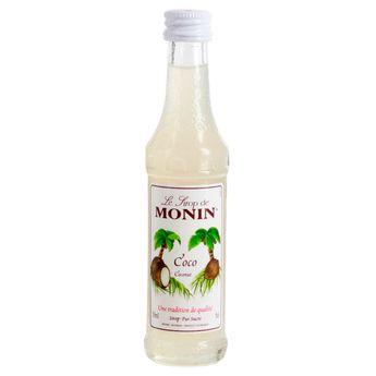 Achat en ligne Mignonette sirop coco 5cl - Monin