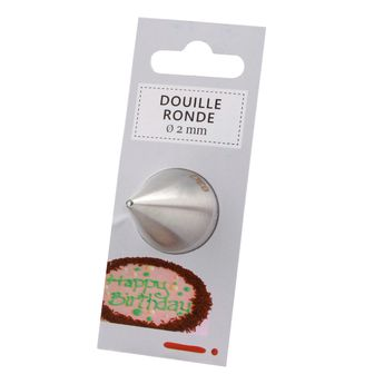 Achat en ligne Douille inox ronde 2 mm