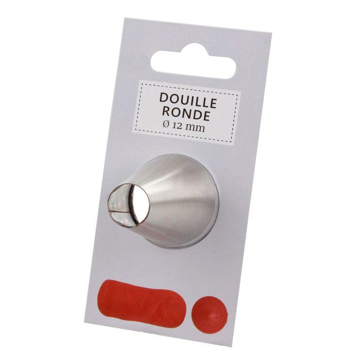 Douille inox ronde 12mm