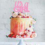 Décoration gâteau cake topper It´s a girl - Creative Party