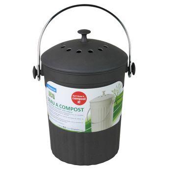 Achat en ligne Poubelle seau à compost avec filtres charbon anti-odeurs - Eddington´s