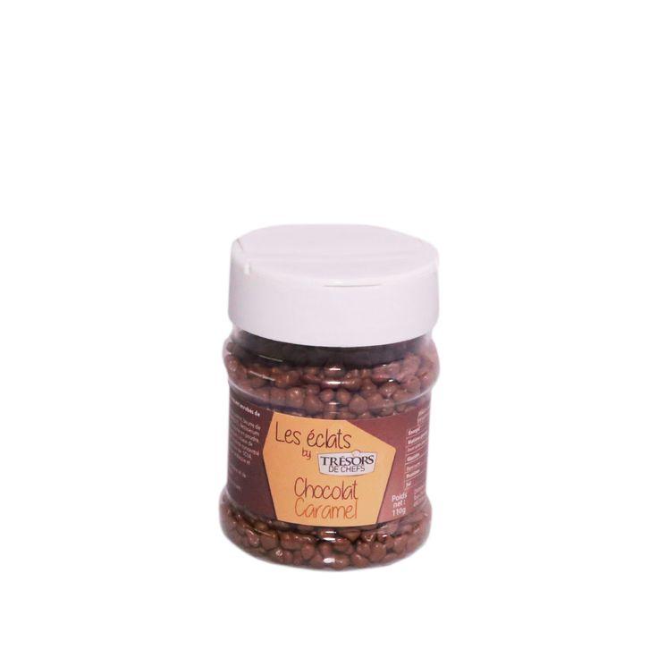 Les éclats : chocolat caramel 150gr - Trésors de Chefs