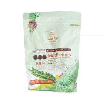 Chocolat de couverture noir Madirofolo bio 1kg - Trésors de Chefs