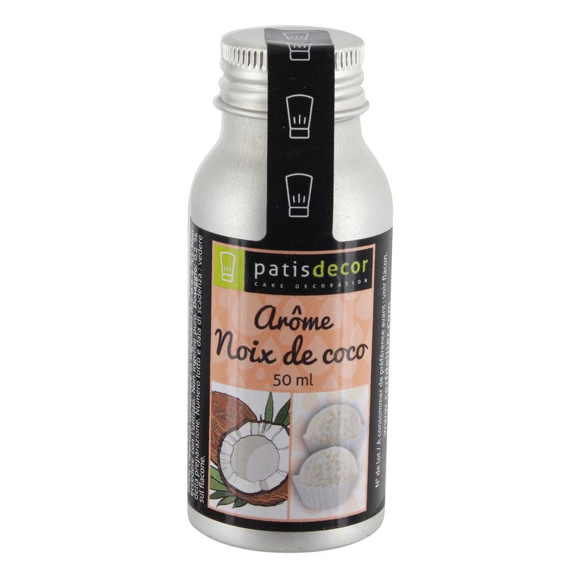 Arôme alimentaire naturel noix de coco - Patisdecor