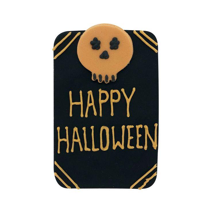 Plaque en sucre Happy Halloween - Anniversary House