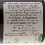 Arôme alimentaire bio framboise 58 ml - Trésors de Chefs
