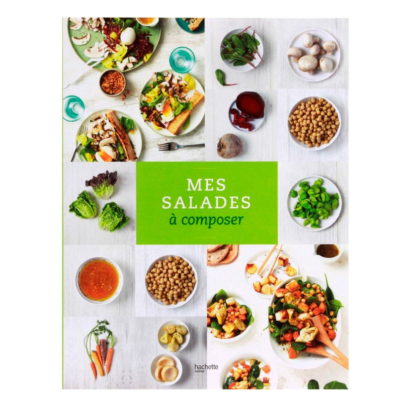 mes salades composer hachette cuisine alice d lice. Black Bedroom Furniture Sets. Home Design Ideas