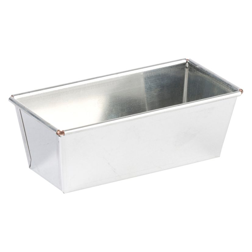 Moule à cake rectangulaire en fer blanc 18 x 6.5 cm - Gobel