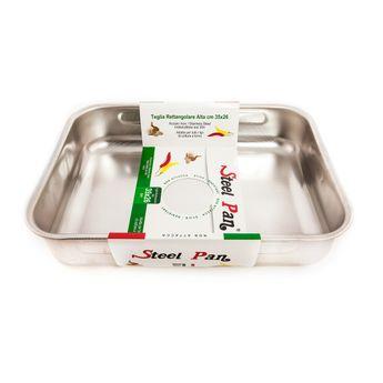 Plat à four inox microalvéolé 30x22 - Steelpan