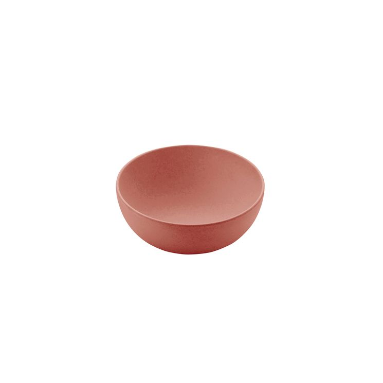 Saladier en fibre de bambou terracotta 13.8cm - Point Virgule