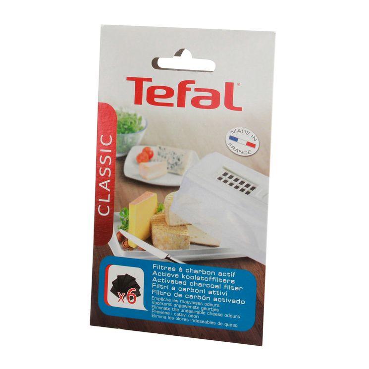 6 filtres de rechange pour cave à fromage petit modèle - Tefal