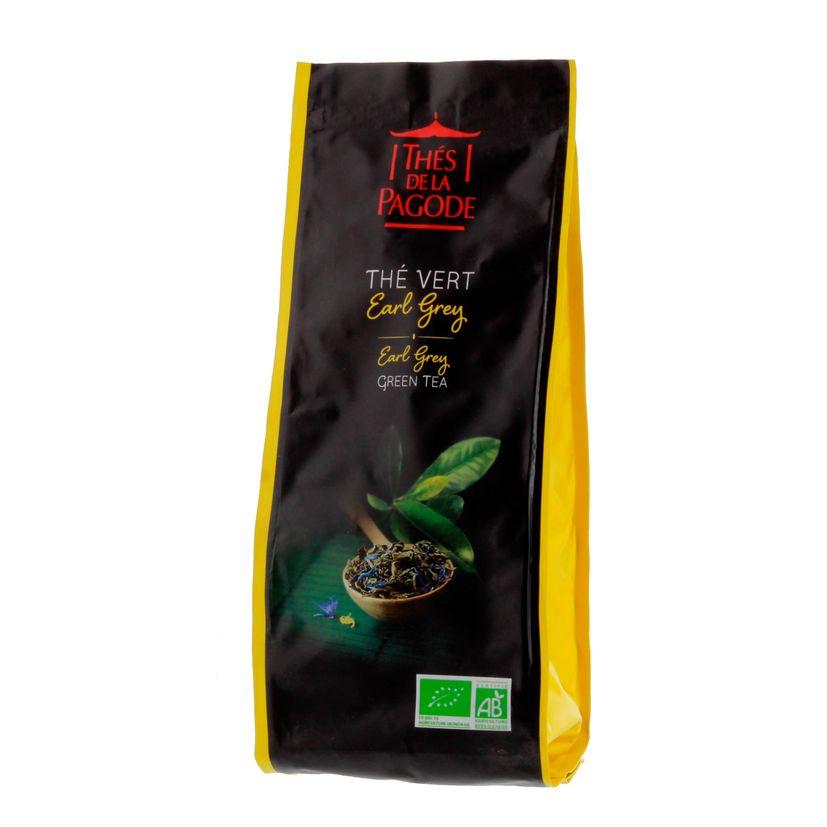 Thé vert bio Earl Grey 100gr - Thés de la Pagode