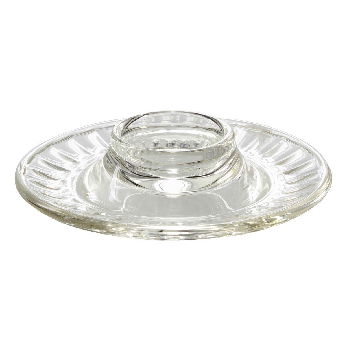 Coquetier assiette en verre perigord - La Rochère