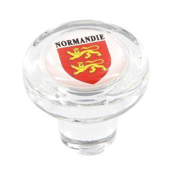 Achat en ligne Bouchon en verre blason normandie - Cevenpack