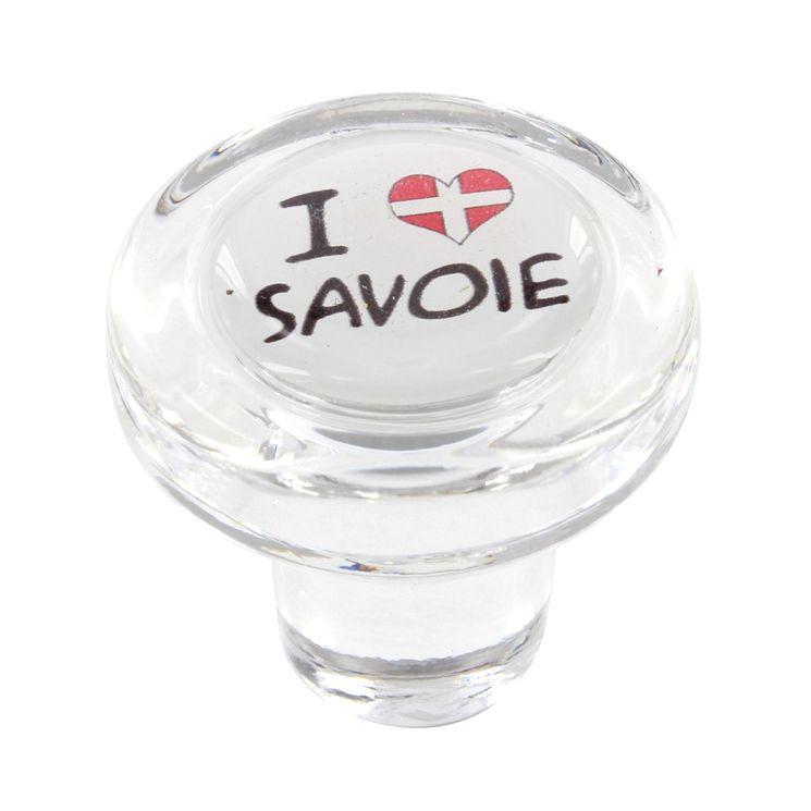 Bouchon en verre i love savoie - Cevenpack