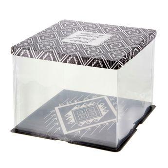 Achat en ligne Boite à gâteaux vitrine 36 x 36 x 28 cm - Patisdecor