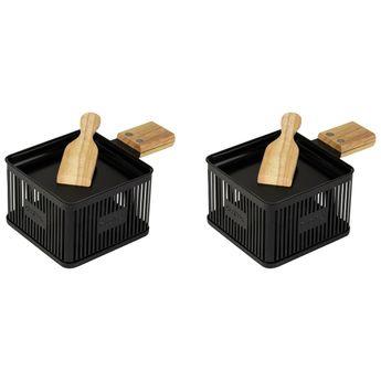 Mini raclette à la bougie x 2 - Gusta
