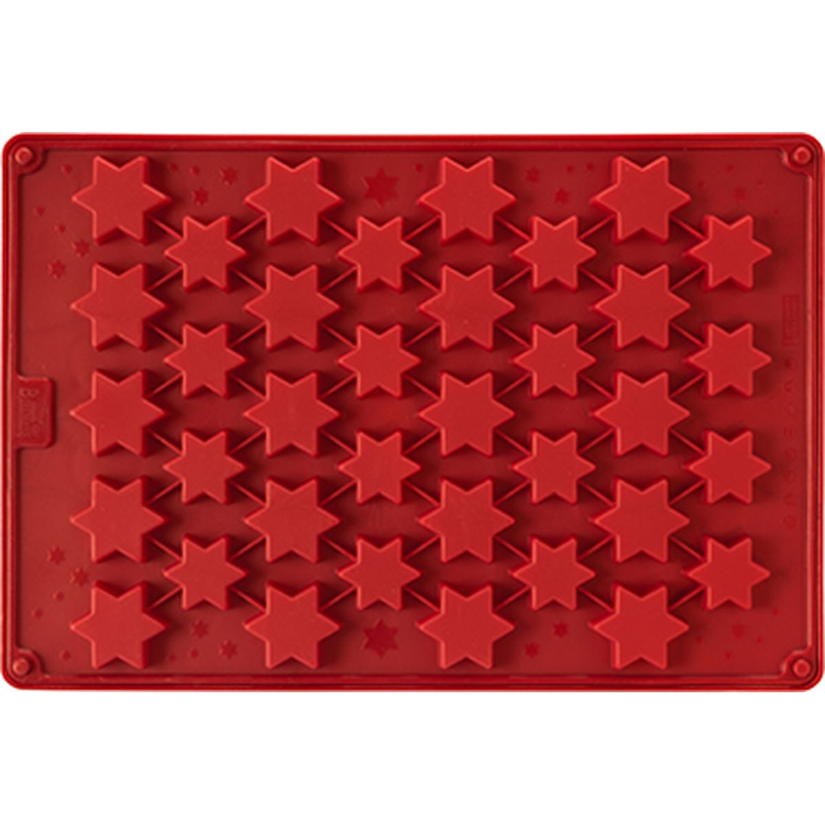 Moule en silicone 36 biscuits étoiles 26 x 38 cm - Birkmann