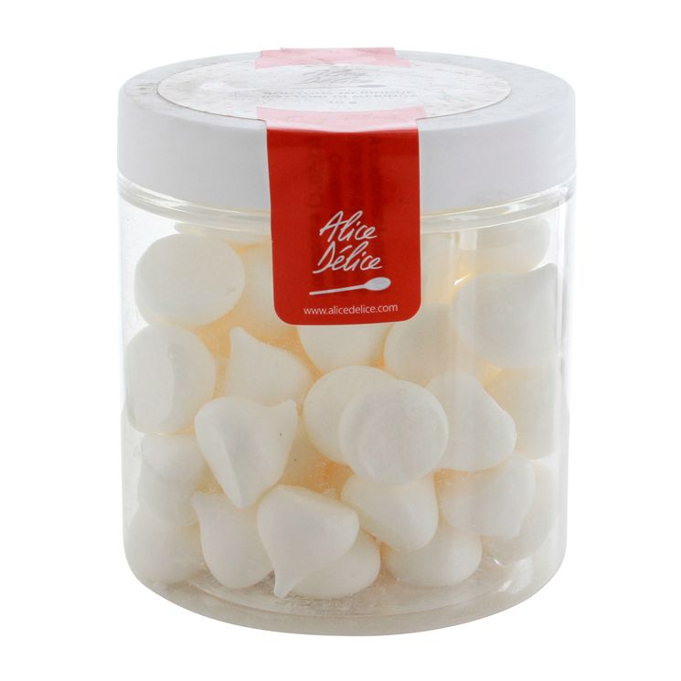 Pot de meringues blanches 30gr - Alice Délice