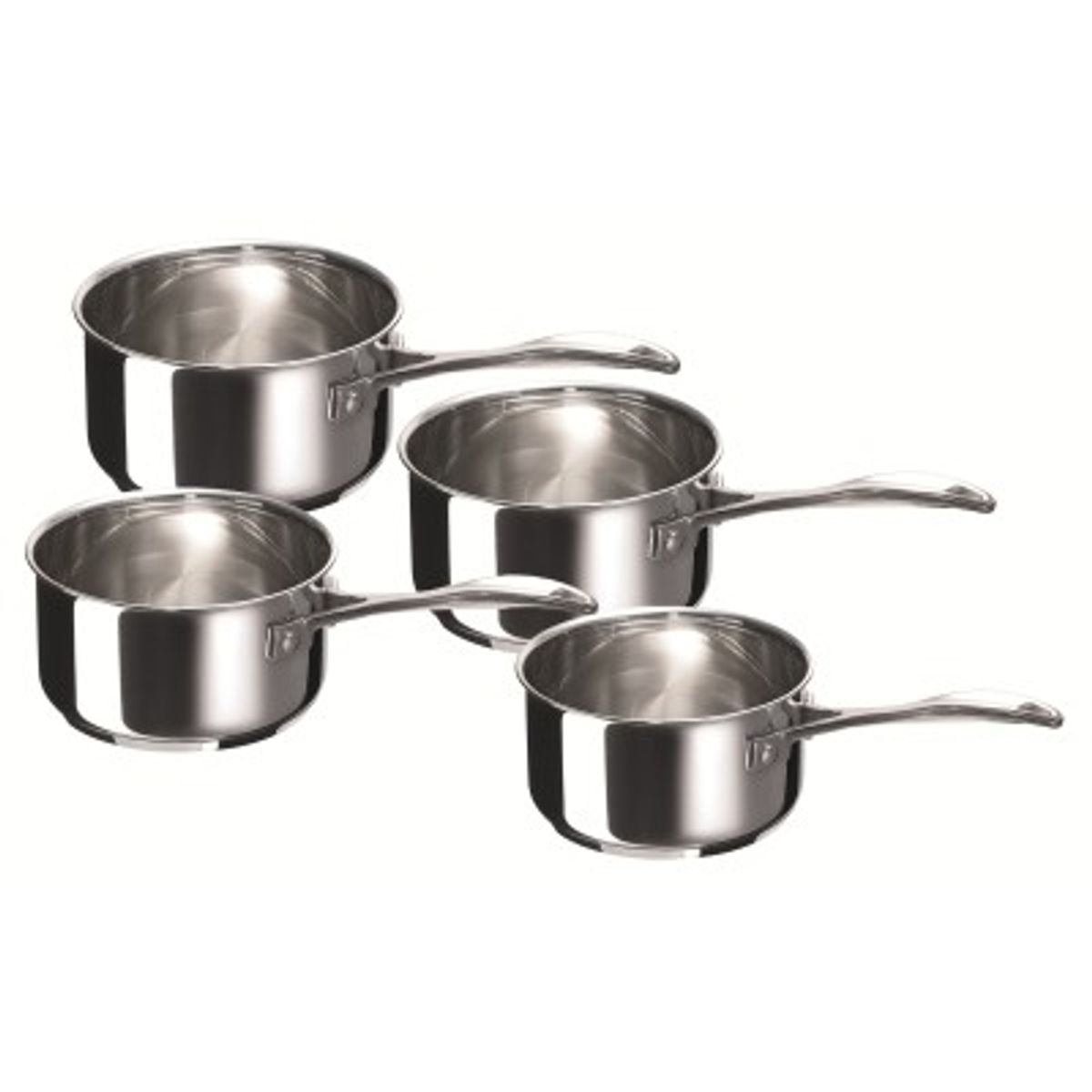 Set 4 casseroles chef 14/20cm - Beka