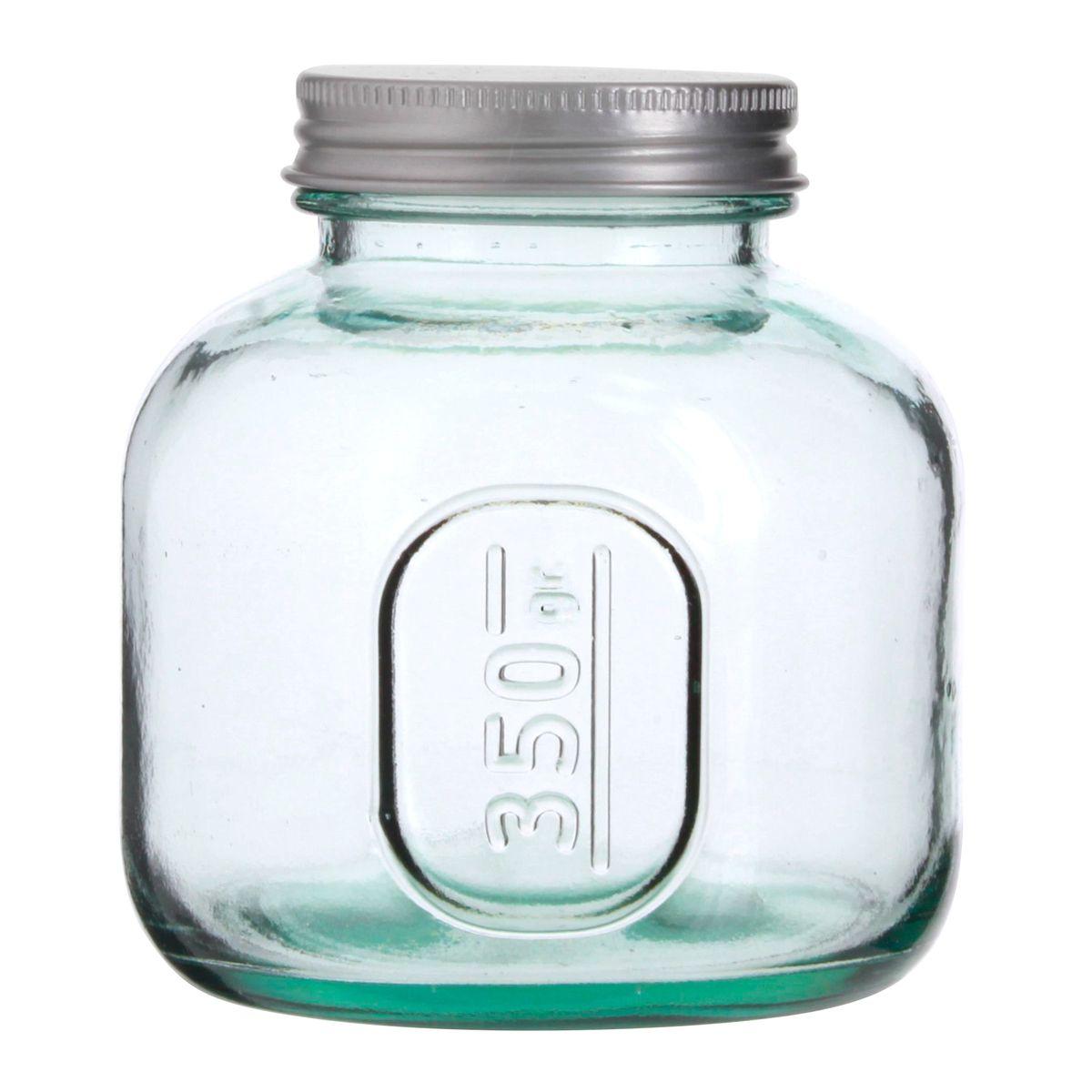 Bocal en verre recyclé 350 gr - Vidrios