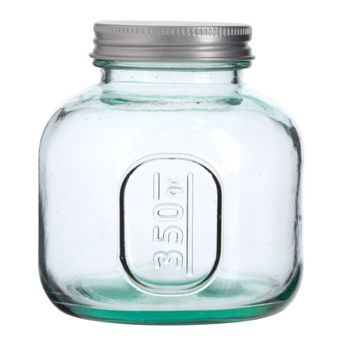 Achat en ligne Boîte de conservation en verre recyclé 0.35 L - Vidrios