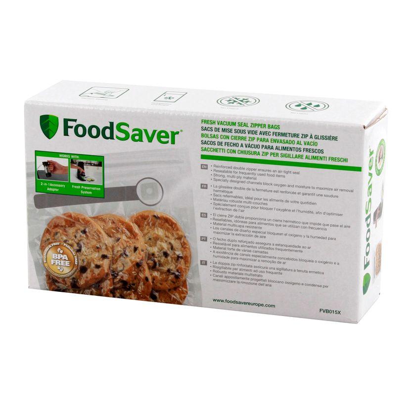 Lot de 26 sac zippés 0.95 l pour machine sous vide VS1192X01 - Foodsaver