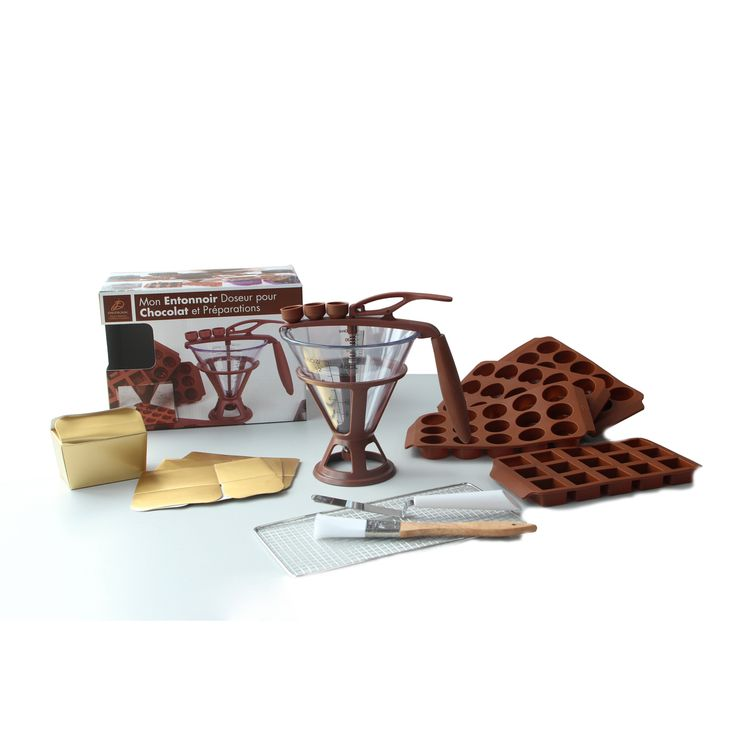 Kit mon entonnoir doseur pour chocolat et préparations  - Daudignac