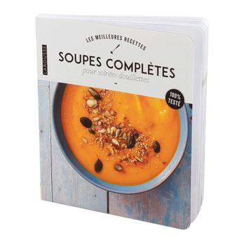 Achat en ligne Soupes complètes pour soirée douillette - Larousse