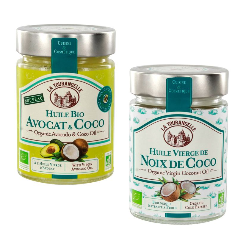 Duo Coco Avocat-Coco Bio- La Tourangelle