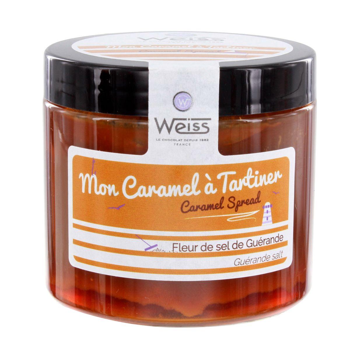 Caramel à tartiner 250g - Weiss