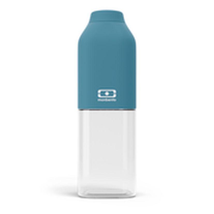 Bouteille nomade MB positive M bleu denim 50 cl 6 x 19 cm - Monbento