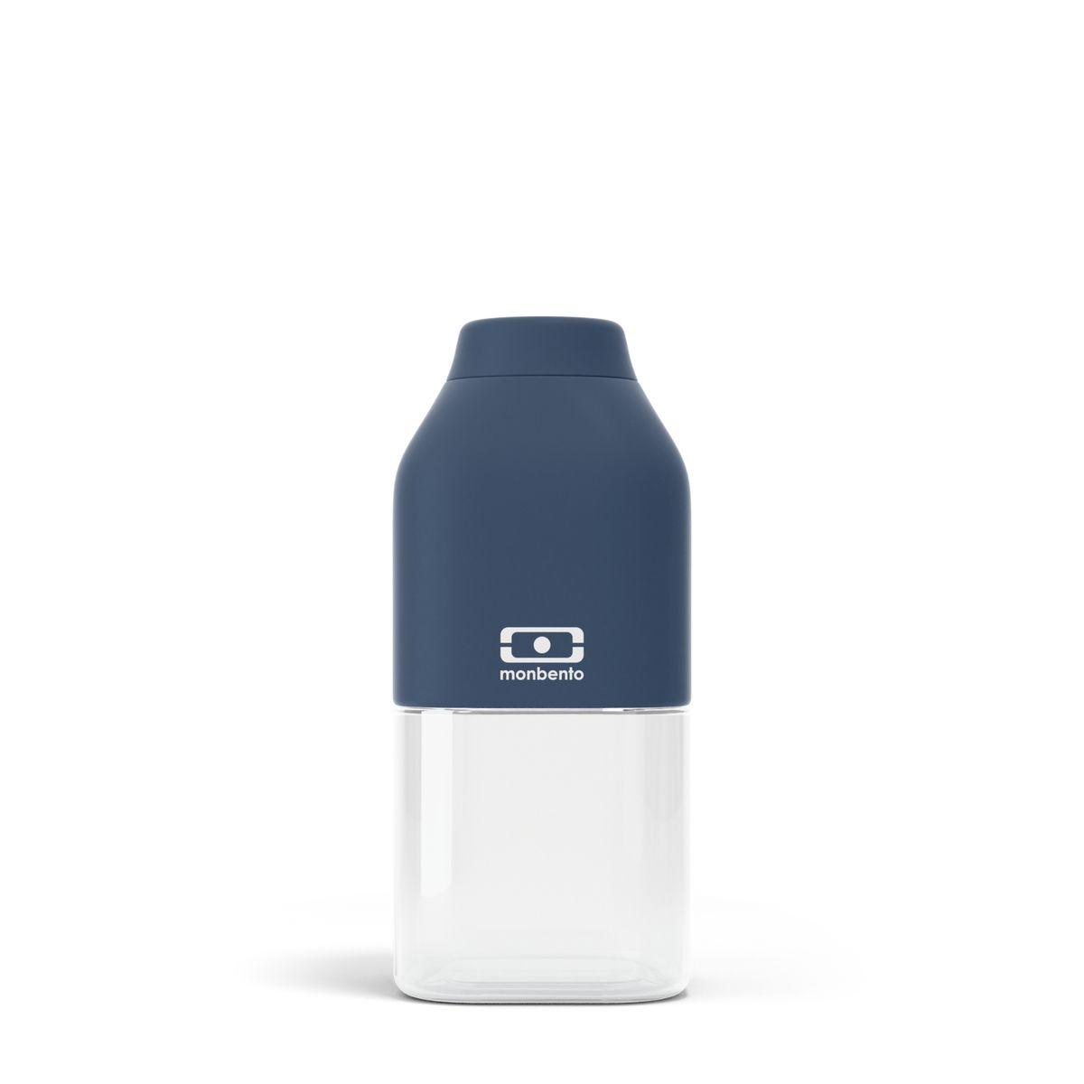 Bouteille nomade MB positive S bleu foncé 33 cl 6 x 13.7 cm - Monbento