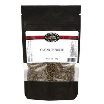 Caviar de poivre sachet 70gr - Comptoir colonial