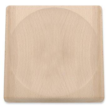 Planche à découper hachoir en bois - Triangle