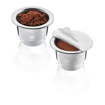 Achat en ligne Lot de 2 capsules inox Conscio - Gefu