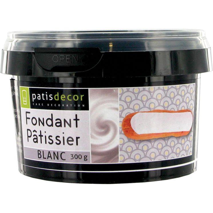 Fondant pâtissier blanc 300 gr - Patisdecor