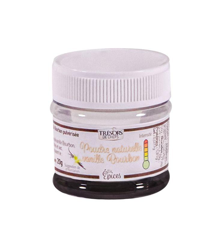 Poudre de vanille pure 20gr - Trésors de chefs