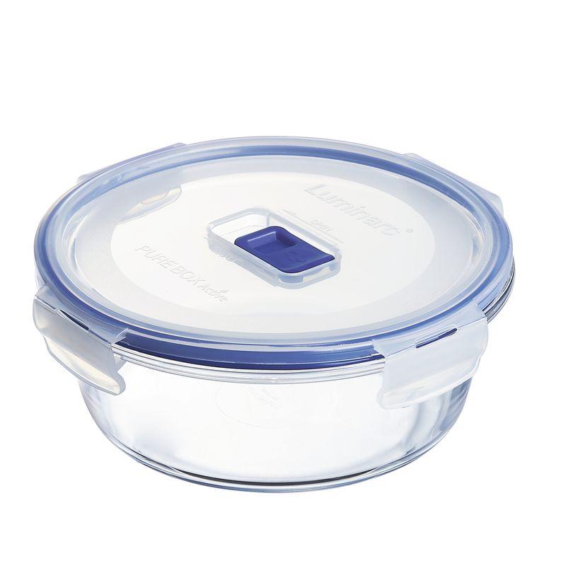Boite hermétique Pure Box ronde en verre 92 cl 7.4 x 17.1 cm - Luminarc