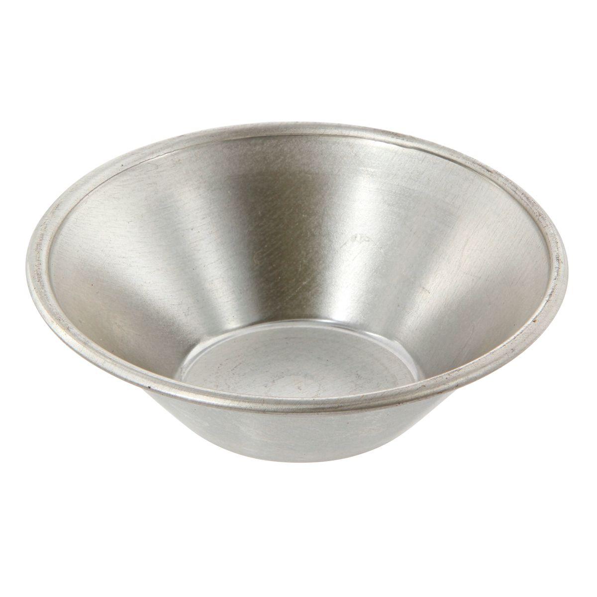 Moule à pasteis de Nata en fer blanc 7 cm hauteur 2 cm - Gobel