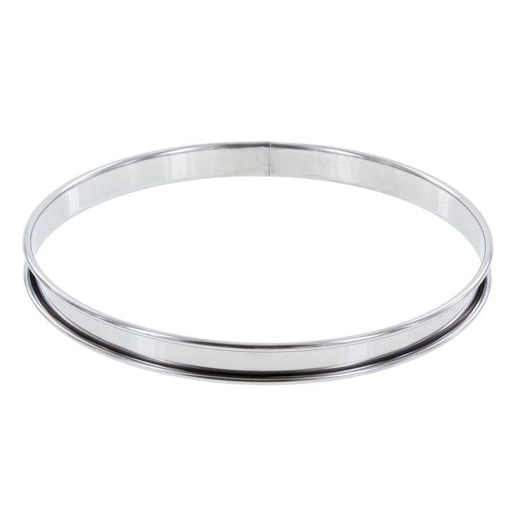 Cercle à tarte inox 22 cm - De Buyer