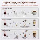 Coffret sirops café 3x25cl - Monin