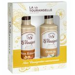 Duo Vinaigrettes terroir Noix-Echalote. Olive-Ail - La Tourangelle